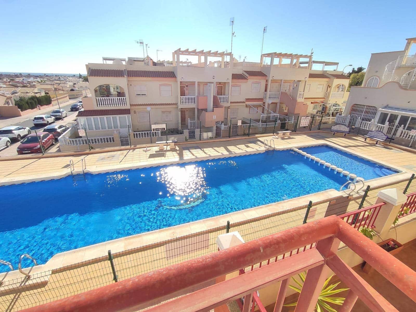 3 makuuhuone Ranta-asunto myytävänä paikassa Orihuela mukana uima-altaan - 105 000 € (Ref: 2438061)