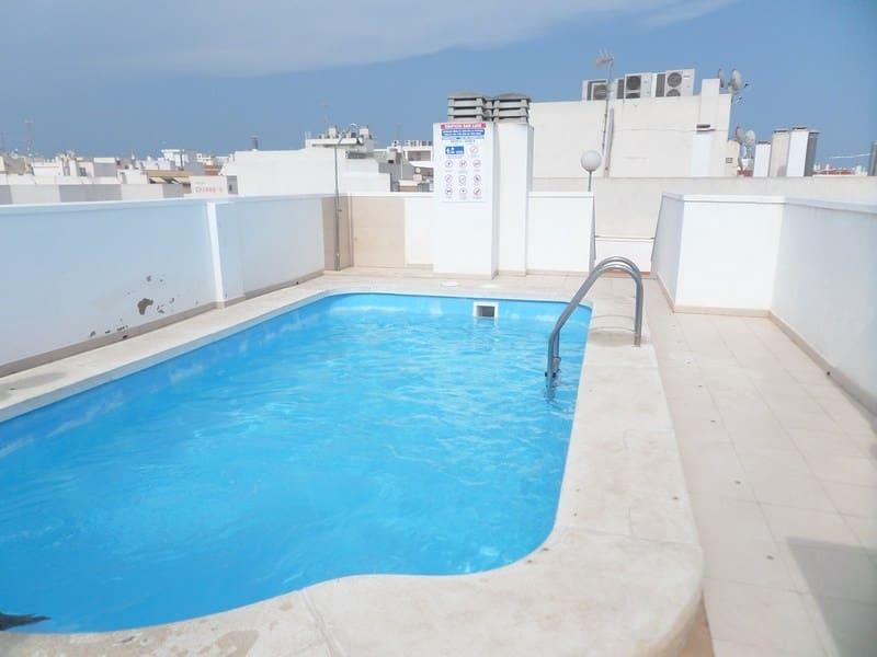 2 camera da letto Appartamento sulla Spiaggia in vendita in Torrevieja con piscina garage - 89.995 € (Rif: 4140434)