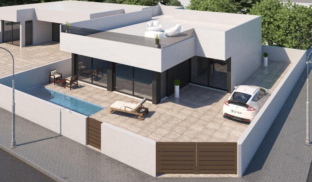 3 bedroom Villa for sale in San Pedro del Pinatar with pool - € 319,950 (Ref: 4544587)