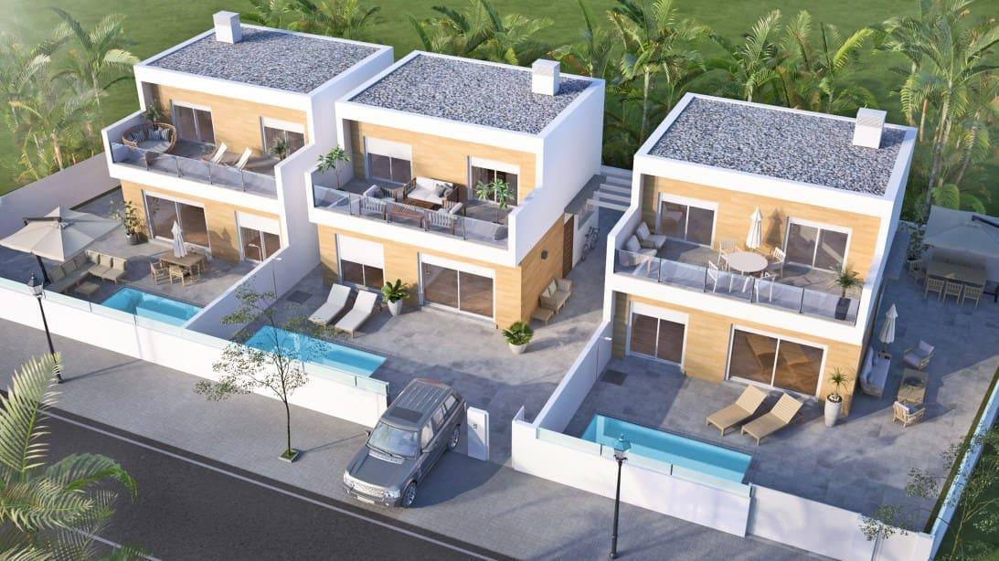 Chalet de 3 habitaciones en Pilar de la Horadada en venta con piscina - 283.000 € (Ref: 4573291)