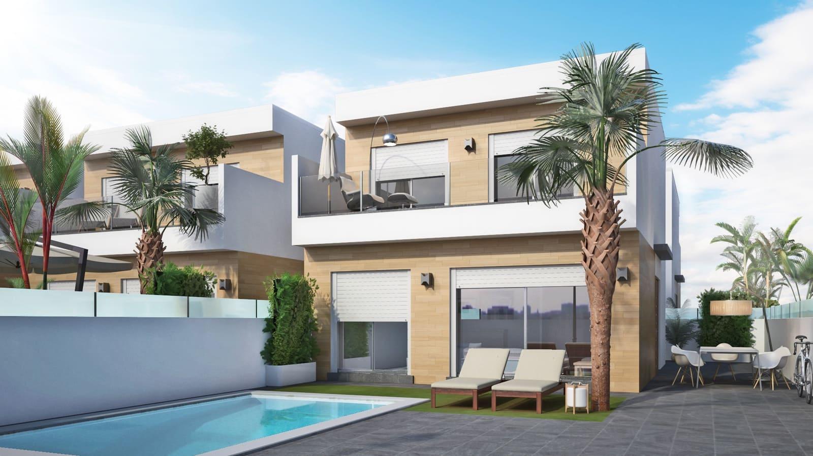 Chalet de 3 habitaciones en Pilar de la Horadada en venta con piscina - 289.000 € (Ref: 5081944)