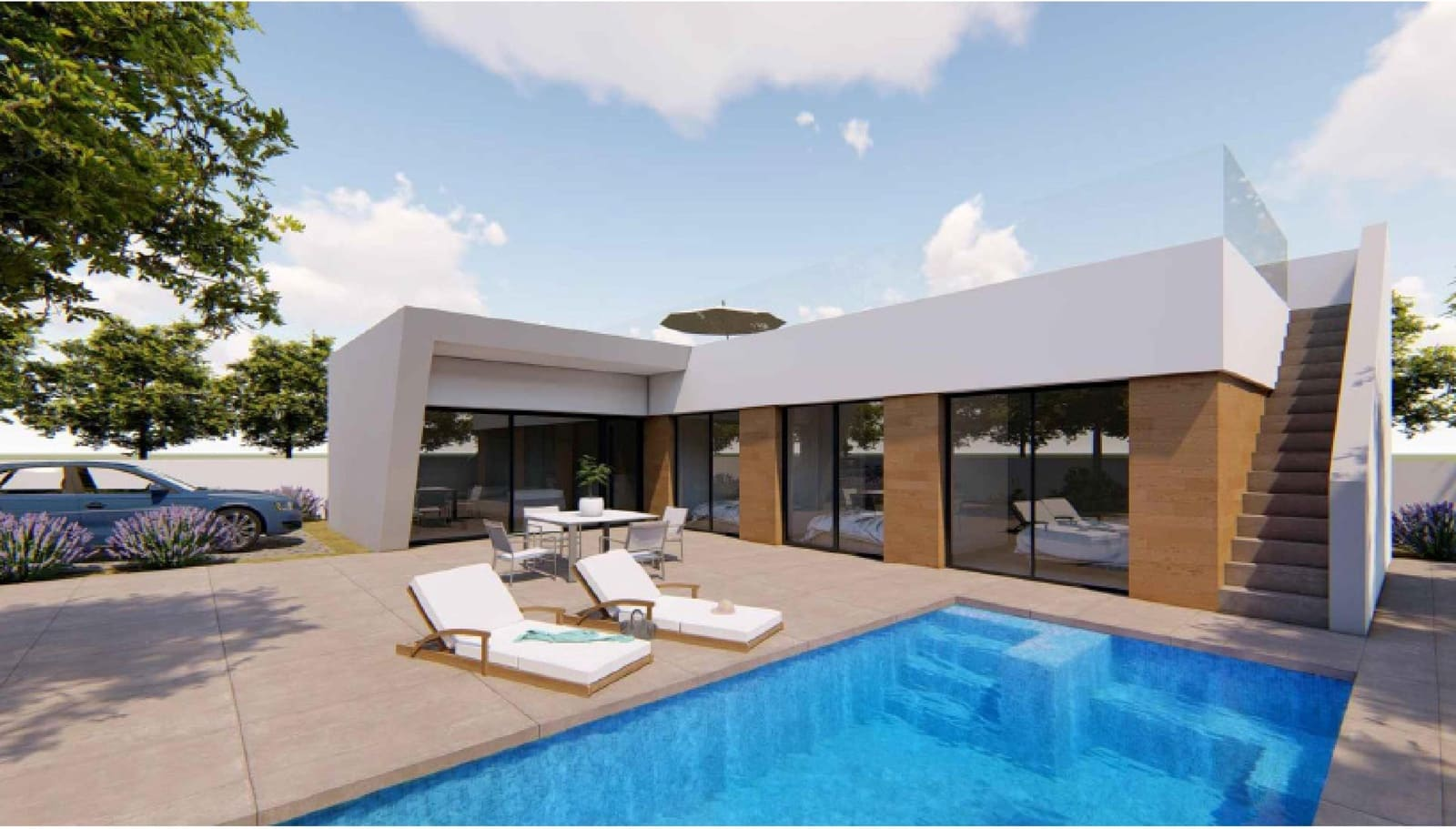 Chalet de 4 habitaciones en Benijófar en venta con piscina garaje - 339.000 € (Ref: 5081955)