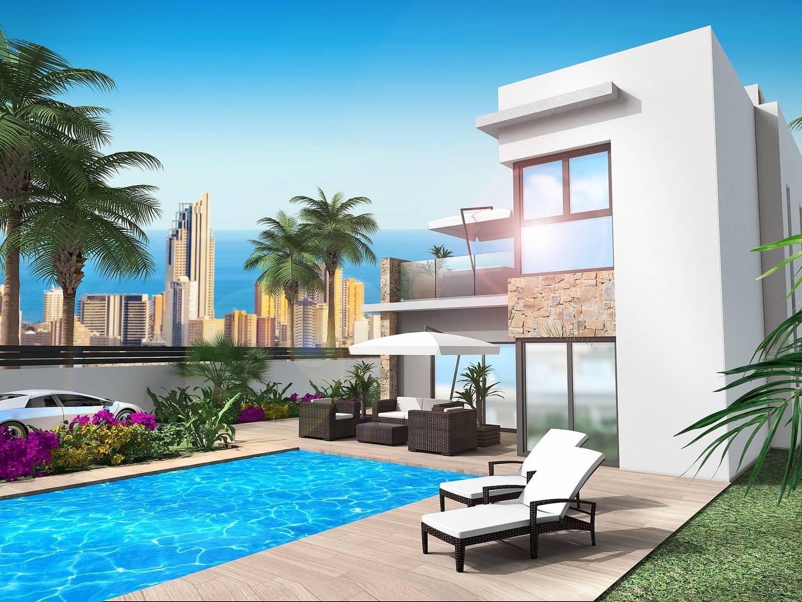4 bedroom Villa for sale in Finestrat - € 490,000 (Ref: 4535117)