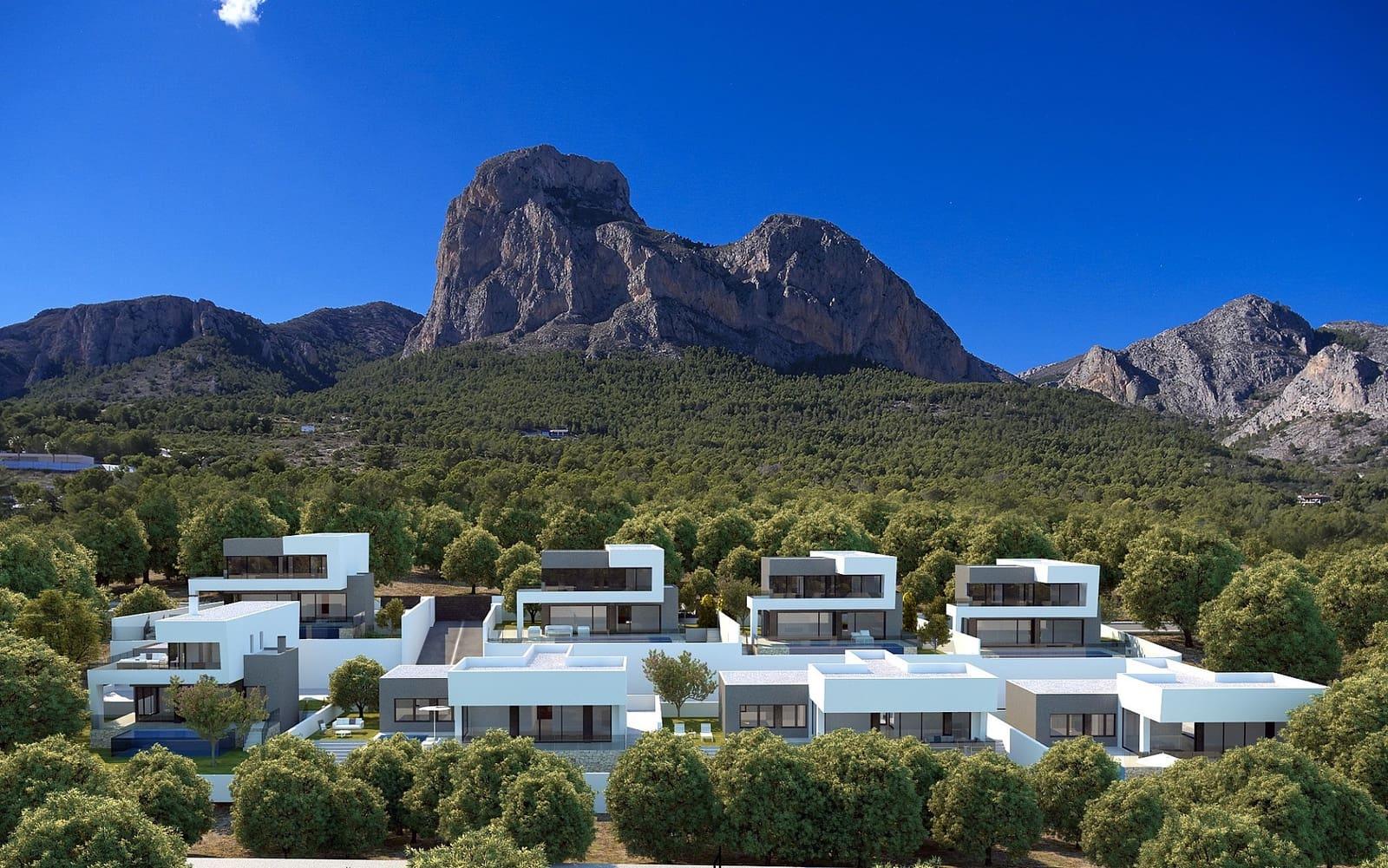 Chalet de 3 habitaciones en Polop en venta - 430.000 € (Ref: 4989160)