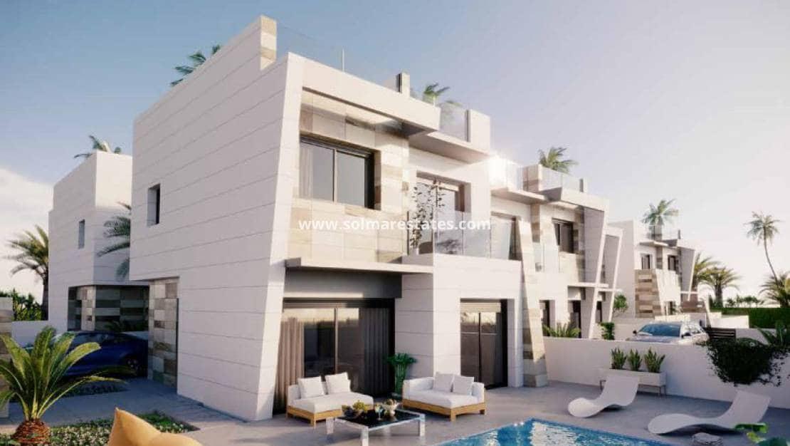 Pareado de 3 habitaciones en Benijófar en venta con piscina - 259.000 € (Ref: 4950041)