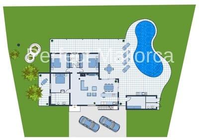 3 Zimmer Bungalow zu verkaufen in Cala Murada mit Pool Garage - 250.000 € (Ref: 5072680)