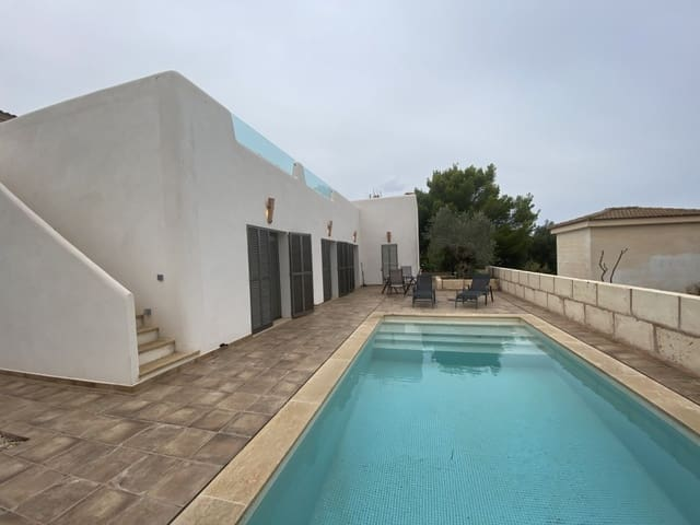 2 sovrum Hus att hyra i Colonia de Sant Pere / Colonia de San Pedro med pool - 1 700 € (Ref: 6318908)