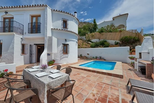 3 sypialnia Dom blizniak do wynajęcia w Mijas z basenem - 1 300 € (Ref: 4372306)