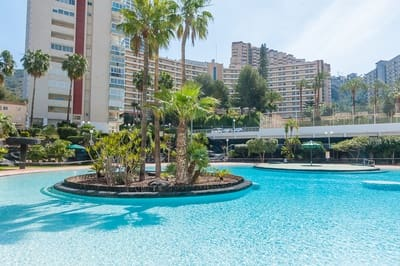 1 Bedroom Apartment For In Benidorm Alicante With Pool 120 000 Ref