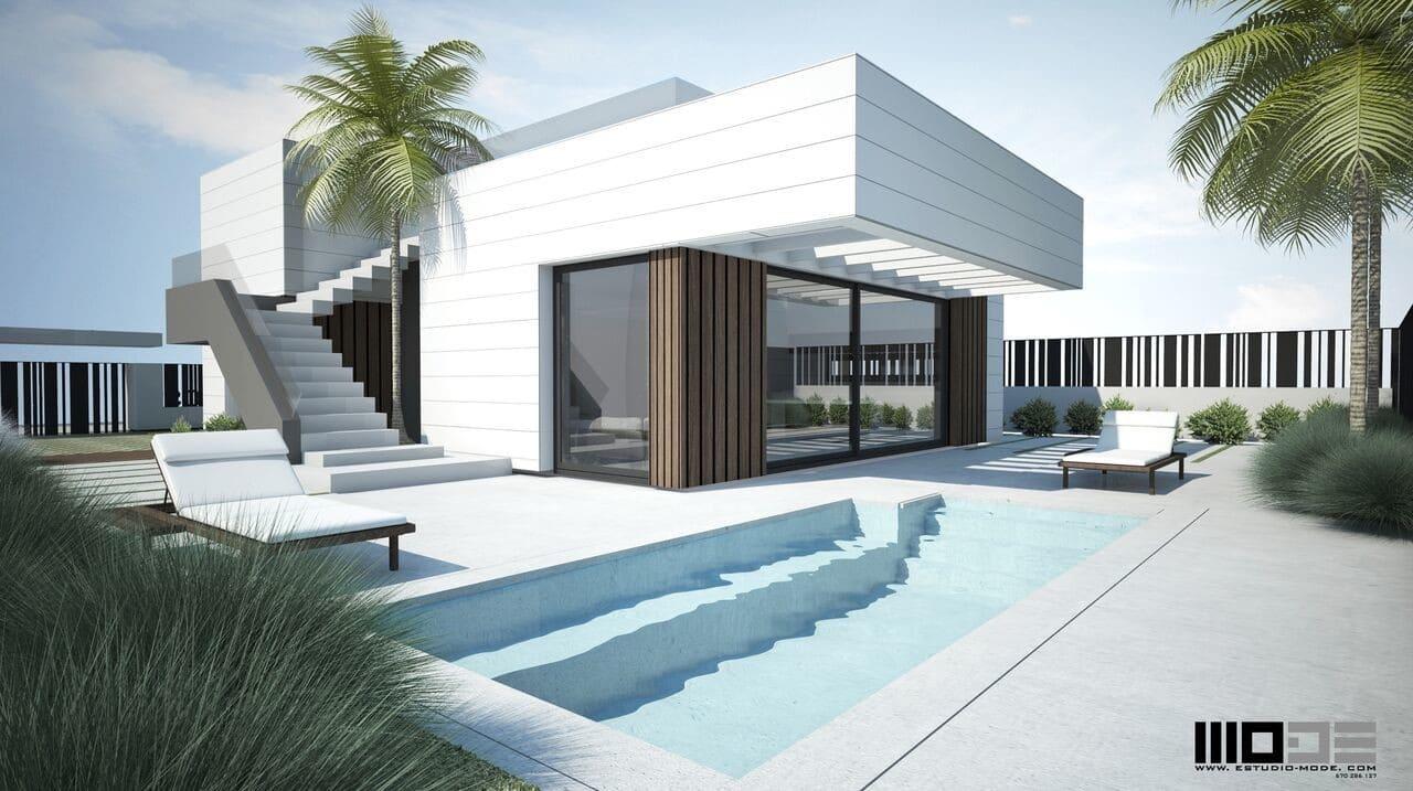Chalet de 3 habitaciones en Polop en venta con piscina - 346.313 € (Ref: 4305606)