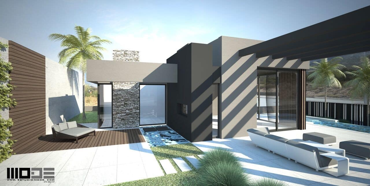 Chalet de 3 habitaciones en Polop en venta con piscina - 377.318 € (Ref: 4305607)