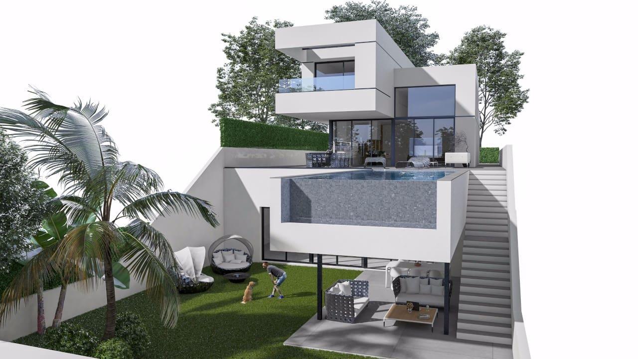 Chalet de 3 habitaciones en Polop en venta con piscina garaje - 615.000 € (Ref: 4709943)