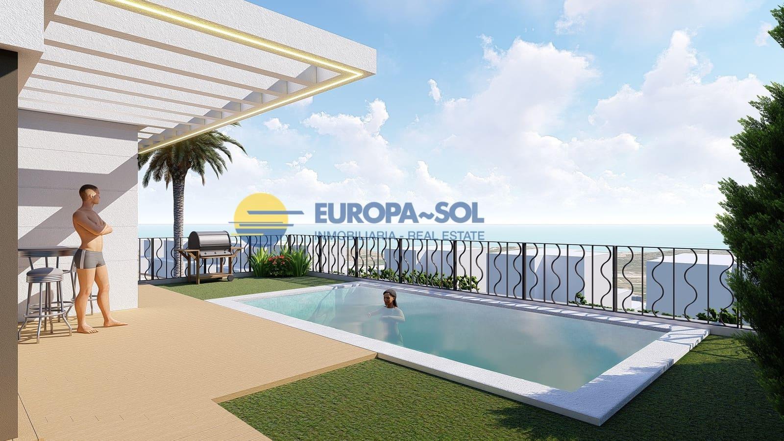 Chalet de 3 habitaciones en Polop en venta con piscina garaje - 225.000 € (Ref: 4756895)
