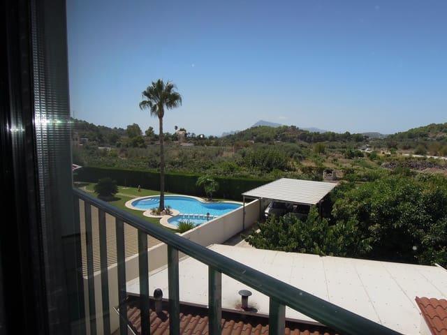 3 slaapkamer Flat te huur in Altea la Vella met zwembad - € 700 (Ref: 5552051)