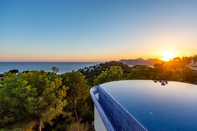4 slaapkamer Villa te huur in Costa de la Calma met zwembad - € 11.500 (Ref: 3329323)