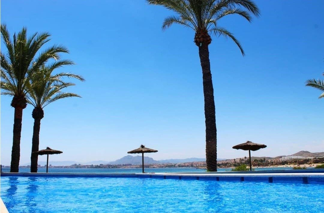 2 bedroom Apartment for sale in Isla Plana with pool garage - € 147,000 (Ref: 6154022)