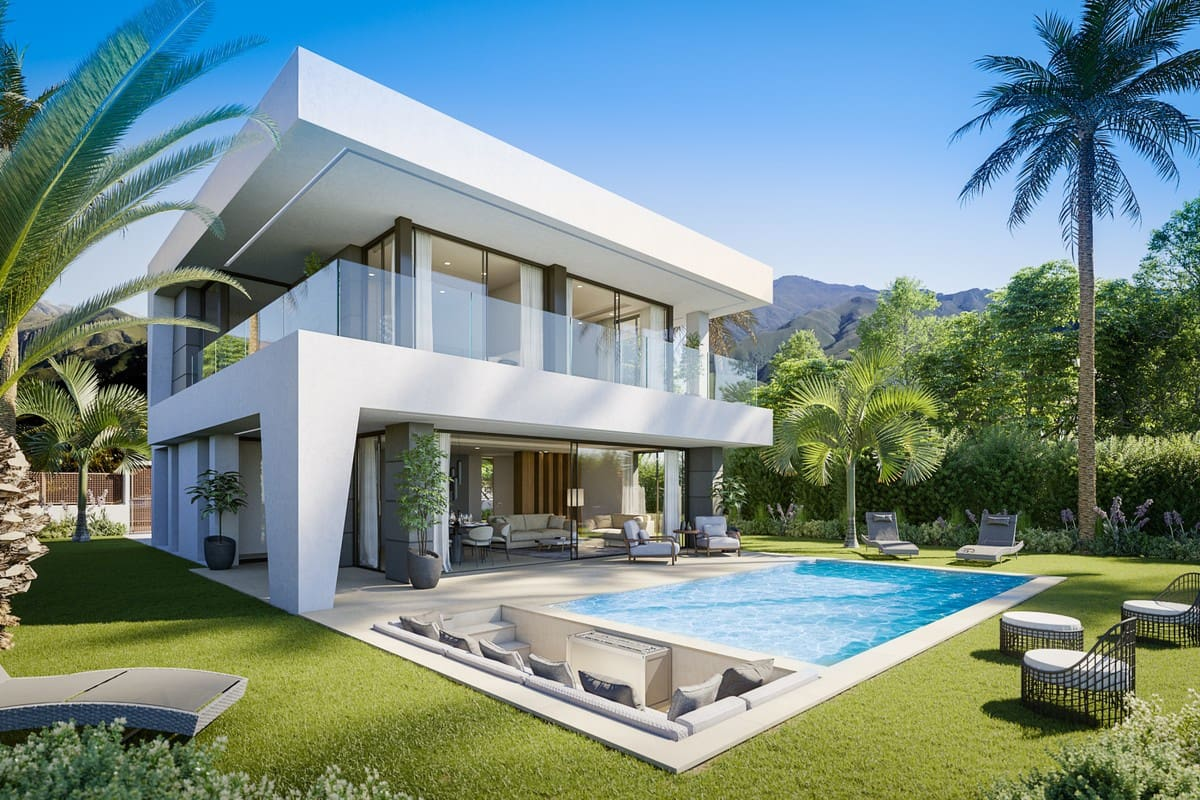 3 bedroom Villa for sale in Manilva with pool garage - € 525,000 (Ref: 5067342)